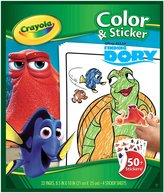 Crayola Finding Dory Color and Sticker Book