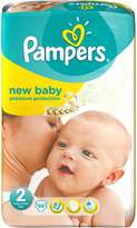 Pampers Windeln New Baby Grösse 2 mini (3-6 kg) - Riesenpack x 56 Windeln