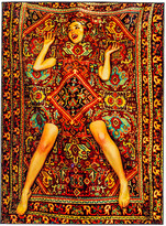 Seletti Toiletpaper Collection Rug - Lady in Carpet