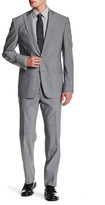 Kenneth Cole New York Peak Lapel Two Button Suit
