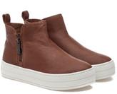 J/Slides Cindy Leather Sneaker