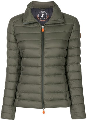 Save The Duck Mock Neck Puffer Jacket