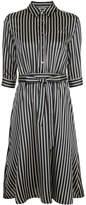 GUILD PRIME striped shirt dress
