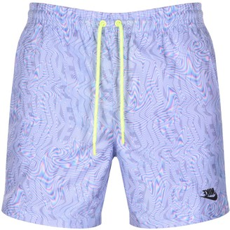 Nike Festival Logo Swim Shorts Purple