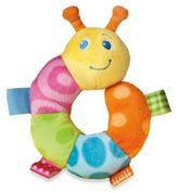 Taggies TaggiesTM 5 Inch Plush Rattle