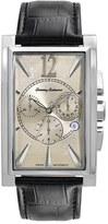 Tommy Bahama 'Havana' Chronograph Leather Strap Watch, 22mm x 33mm
