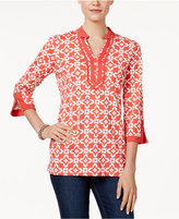 Charter Club Iconic-Print Tunic, Only at Macy's