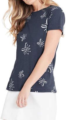 Mavi Jeans Romy Vintage Blue Flower T-Shirt