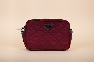 Prada Nylon Tessuto Impuntu Quilted Crossbody Bag