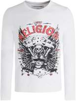 True Religion Men's Long Sleeve Motorblock T-Shirt L