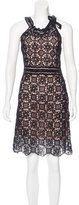Christian Dior Wool Crochet Dress