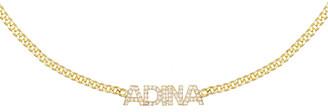Adina's Jewels Cubic Zirconia Nameplate Choker