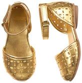 Gymboree Cut-Out Metallic Sandal