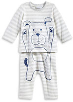 First Impressions Two-Piece Dog Graphics Tee and Pants Set