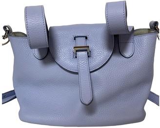 Meli-Melo Purple Leather Handbags