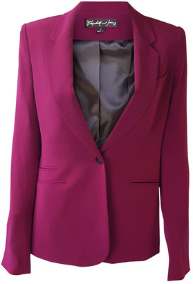 Elizabeth and James Pink Synthetic Jackets