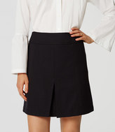 LOFT Front Pleat Skirt