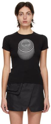 Marine Serre Black Minifit Optic Moon T-Shirt
