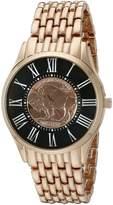 August Steiner Men's CN009RG Analog Display Japanese Quartz Rose Gold Watch