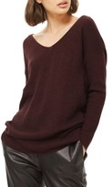 Topshop Women's Twist Back Sweater