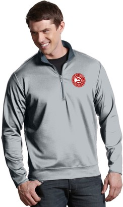 Antigua Men's Atlanta Hawks Leader Pullover