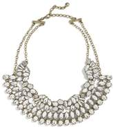 BaubleBar Women's Evangeline Crystal Statement Necklace