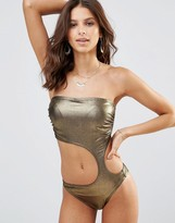 Freya Gold Rush Cut Out Suit