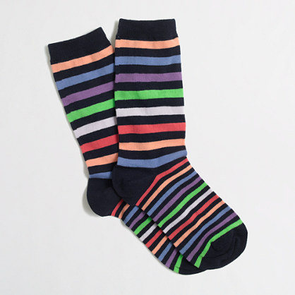 J.Crew Factory Factory multistripe socks