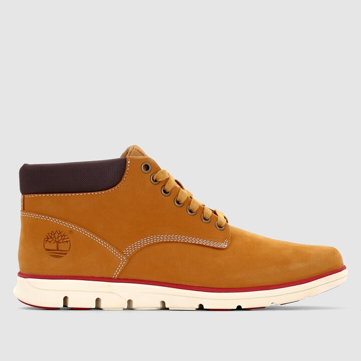 Thumbnail for your product : Timberland Bradstreet CA13EE Nubuck Ankle Boots with Laces