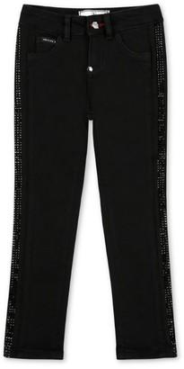 Philipp Plein Junior Diamante Slim Jeans (4-16 Years)