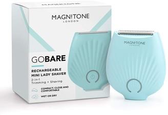 Magnitone Gobare! Rechargeable Mini Lady Shaver - Aqua
