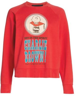 Marc Jacobs Peanuts x The Charlie Bro Graphic Sweatshirt