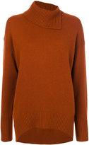 Joseph roll neck sweater dress - women - Wool - XS