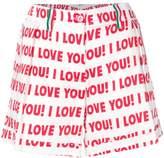 Blugirl printed short shorts