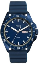 Fossil Men's Sport 54 Silicone Strap Watch, 44Mm