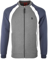 Luke 1977 Bodenham Full Zip Sweatshirt Grey