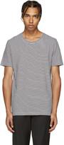 Maison Margiela Black & White Striped Three-Pack T-Shirt