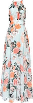 Brinker & Eliza Floral Print Halter Maxi Dress