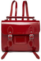 The Cambridge Satchel Company Women's Barrel Backpack Patent Red