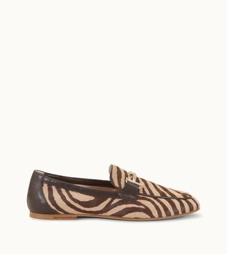 Tod's Loafers in Ponyskin-Effect Leather