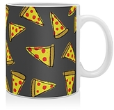 DENY Designs Leah Flores Pizza Party Mug