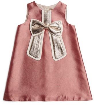 Hucklebones London Bow Shift Dress (2-12 Years)