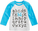 First Impressions Hi Alphabet-Print Cotton T-Shirt, Baby Boys (0-24 months), Created for Macy's