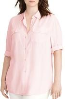 Lauren Ralph Lauren Plus Jersey Workshirt