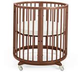 Stokke Sleepi Mini Baby Crib Bundle, Walnut Brown