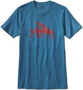 Patagonia Mens T-shirt L Underwater Blue