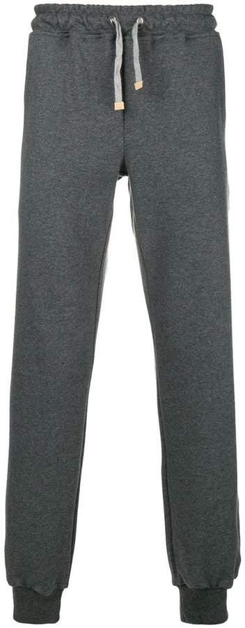 Eleventy drawstring track trousers