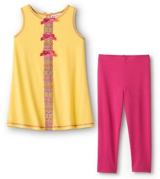 American Girl Flower Power Pajamas For Girls Xs-Q