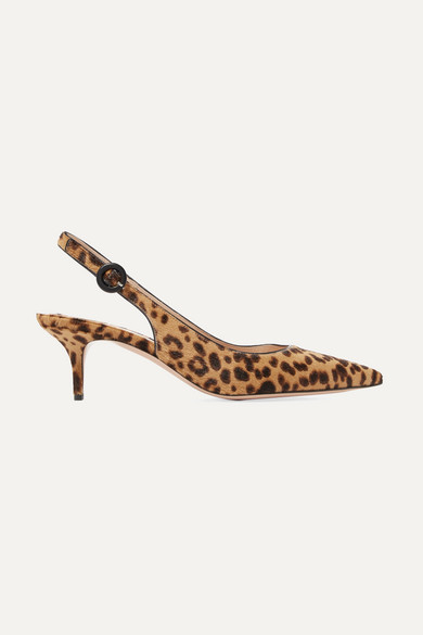 7cbf2536e790 Leopard Print Calf Hair Shoes - ShopStyle