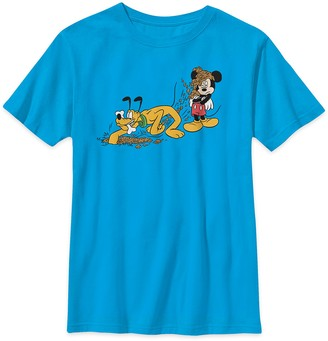 Disney Mickey Mouse and Pluto T-Shirt for Kids